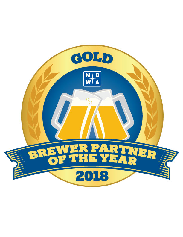 2018 Brewer Partner of the Year Logo