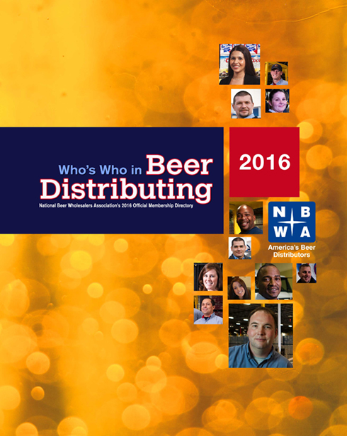 Who's Who in Beer Distributing 2016