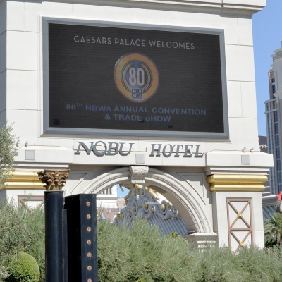 Caesars Palace Sign - Welcome to NBWA's 80th Annual Convention and Trade Show