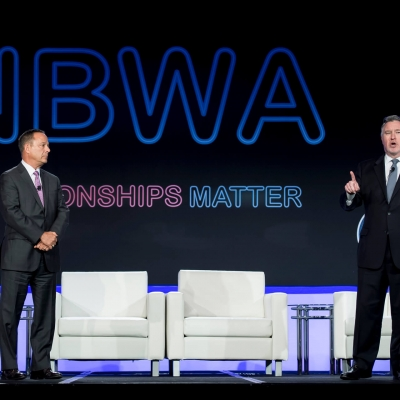Jim Matesich, Chairman of the Board, NBWA & Craig A. Purser, President & CEO, NBWA