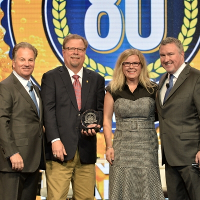 Brewer Partner of the Year Recipient Bell's Brewery