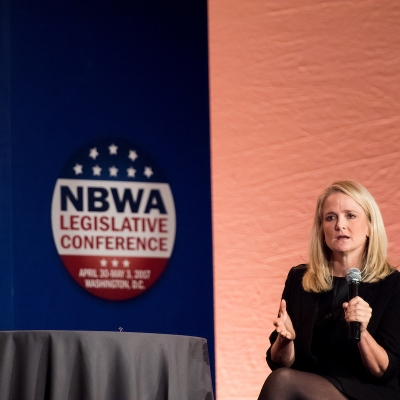 NBWA EVP of Government Affairs Laurie Knight
