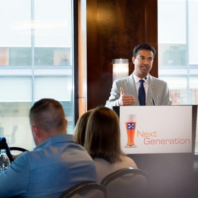 Rep. Carlos Curbelo (FL) at NBWA Next Generation Group Luncheon