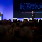 Laurie Knight, Executive Vice President, Government Affairs, NBWA & Craig A. Purser, President & CEO, NBWA