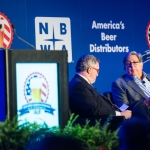 NBWA President and CEO Craig Purser and Constellation Brands Beer Division Chairman Bill Hackett